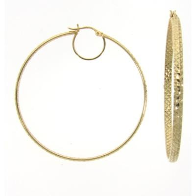 Gold Hoops-Fashion Jewelry