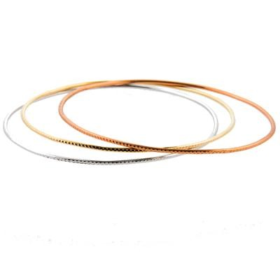Sterling Silver Bangles-Silver Jewelry