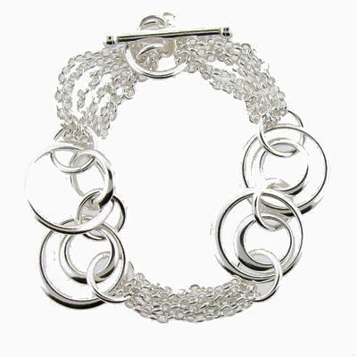 Sterling Silver Bracelet-Silver Jewelry