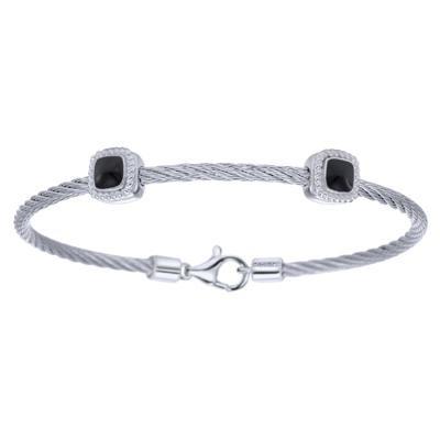 Gabriel & Co. Bangle Bracelet-Silver Jewelry
