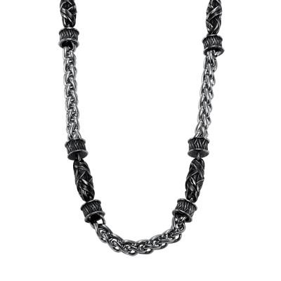 TRITON Woven Necklace-Mens Jewelry